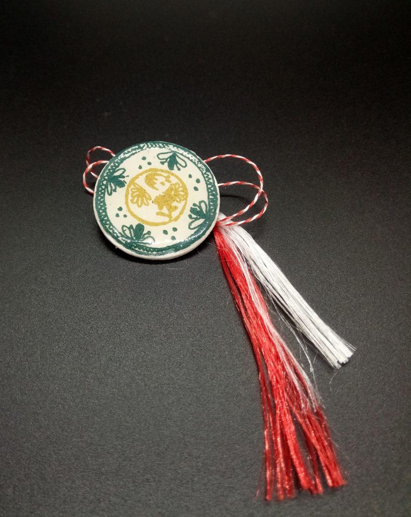 martisor cu ceramica maramureseana