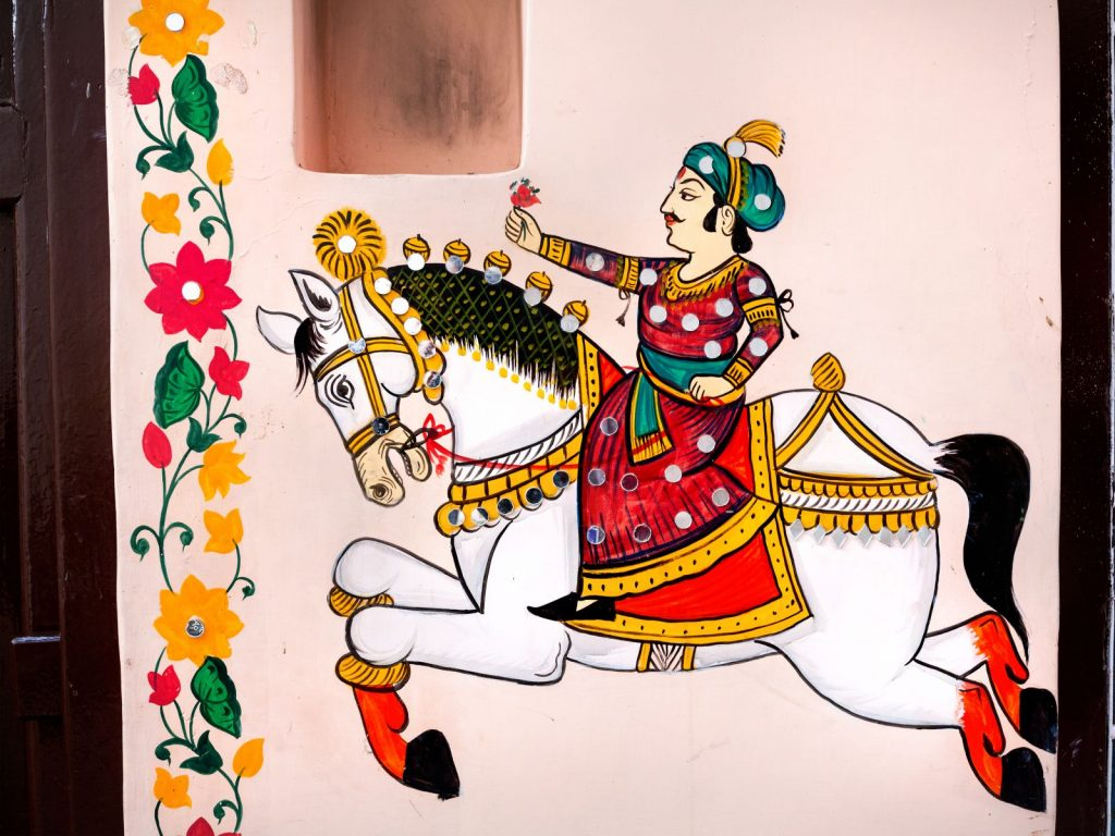 Calul si Calaretul indian